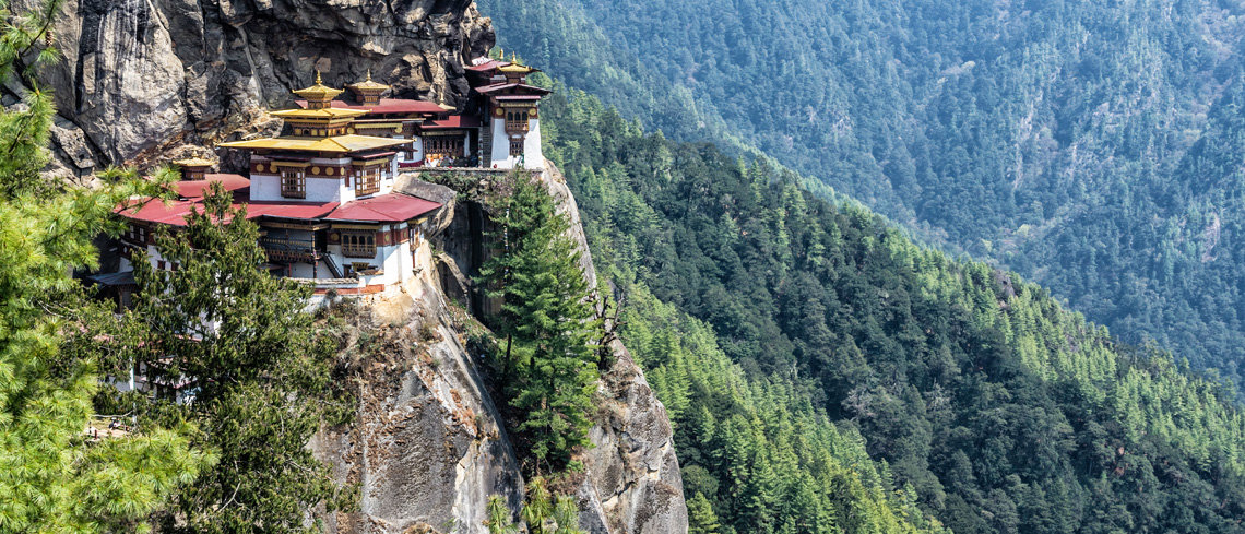 Bhutan a journey in pictures Tigers nest monastery