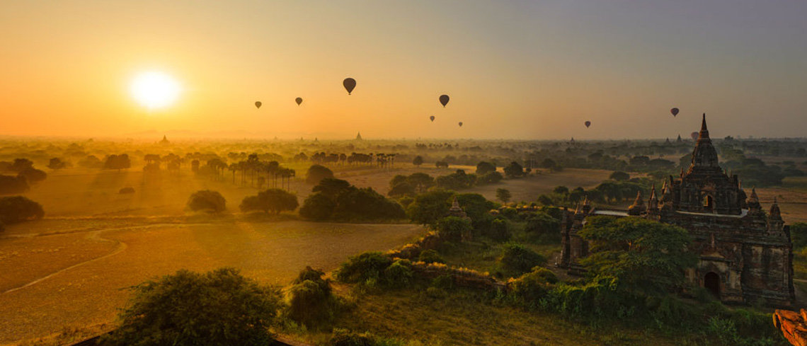an epic hot air balloon journey around myanmar