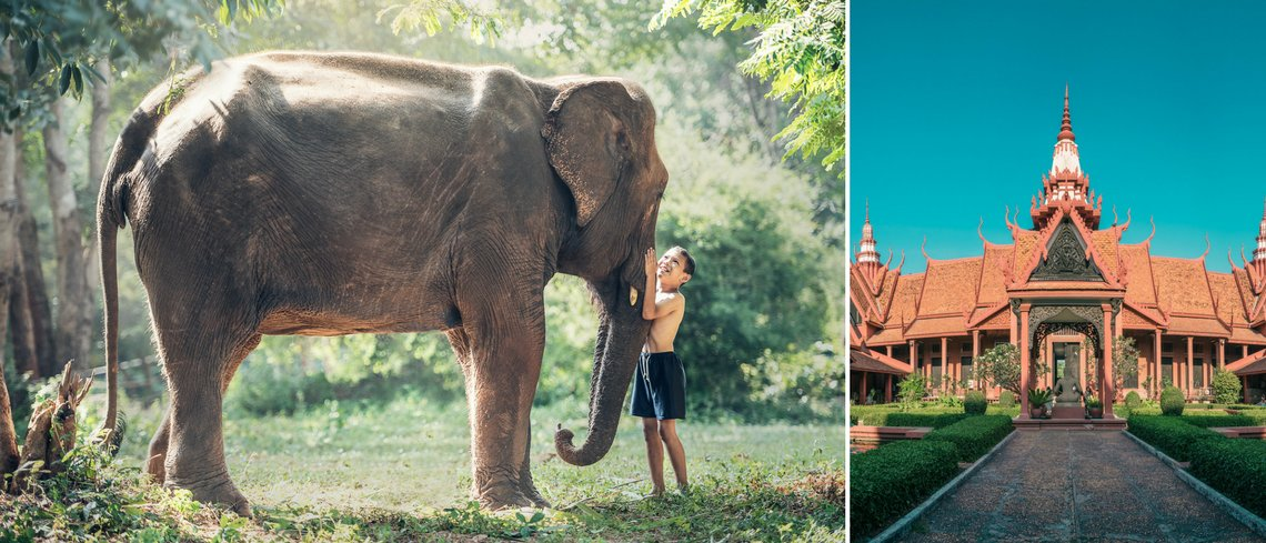 holiday with kids in cambodia
