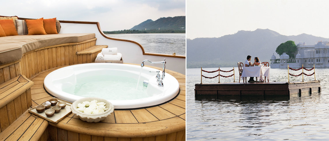 Taj Lake Palace hotel for your holiday to India
