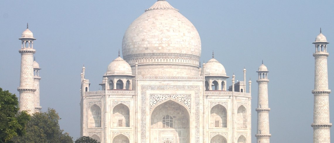 How to see the Taj Mahal in India