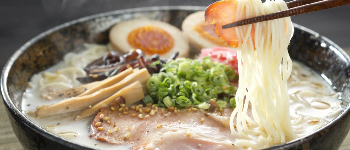 Ramen on culinary holiday to japan