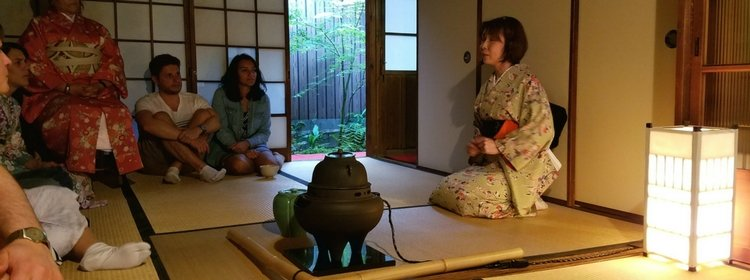 attend a tea ceremony in Japan
