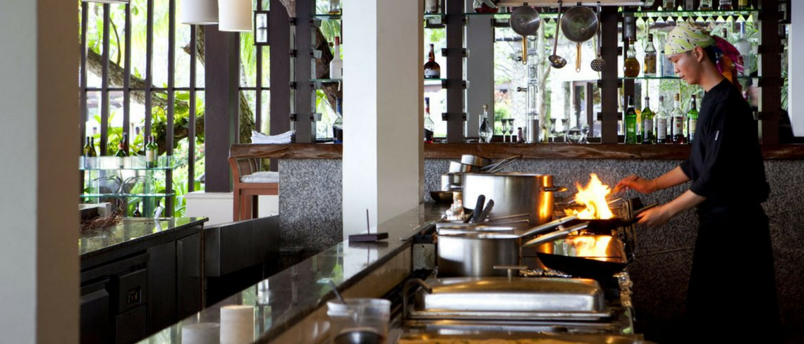 The Chef's kitchen experience pangkor laut resort malaysia