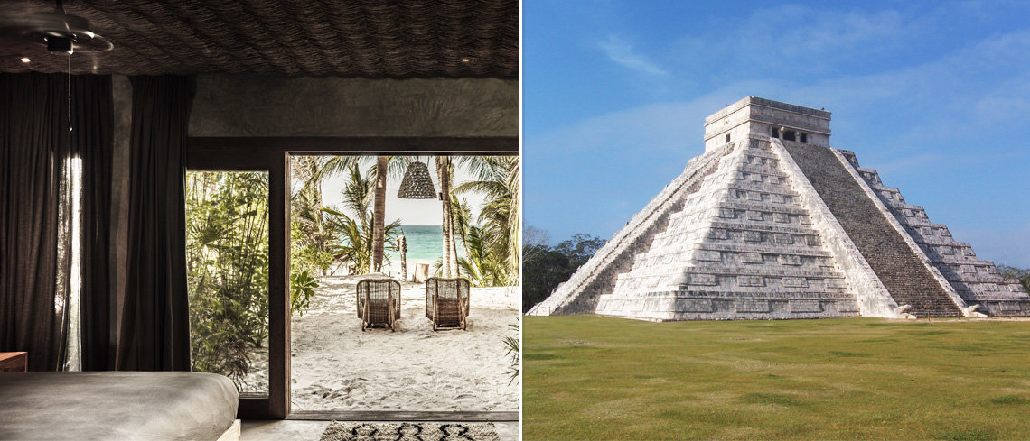 Visit Chichén Itzá in Tulum for your holiday to Mexico