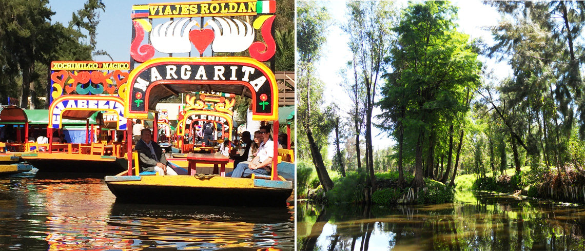 Visit Xochimilco in Mexico city on your summer holiday