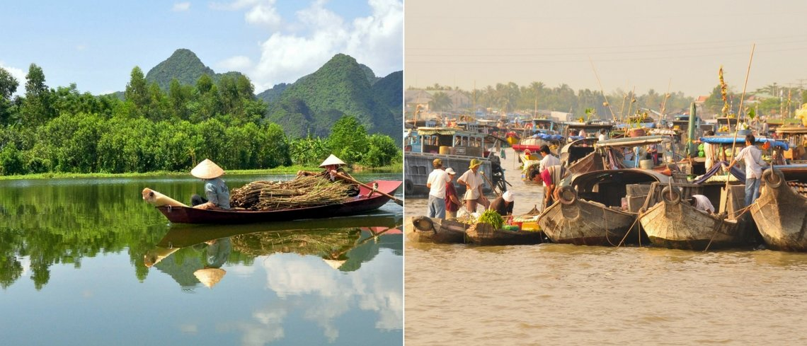 ten hot experiences in Vietnam