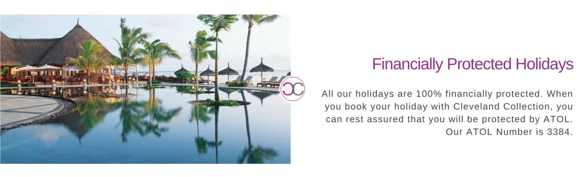 ATOL protected luxury holidays